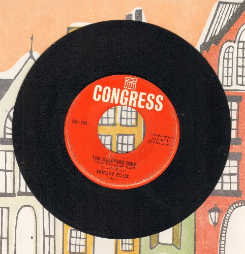 Ellis, Shirley - The Clapping Song (Clap Pat Clap Slap)/This Is Beautiful - EX8/ - 45 rpm Records
