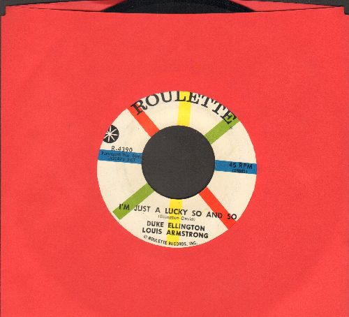 Ellington, Duke & Louis Armstrong - I'm Just A Lucky So And So/Duke's Place - NM9/ - 45 rpm Records