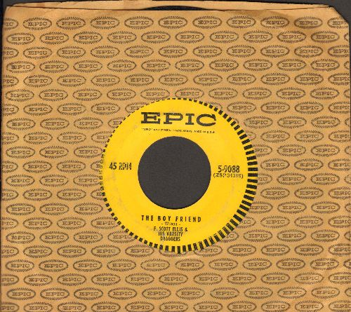 Ellis, F. Scott & His Varsity Draggers - The Boy Friend/I Could Be Happy With You (FANTASTIC Flapper-Sound teo-sider, with Epic company sleeve) - EX8/ - 45 rpm Records
