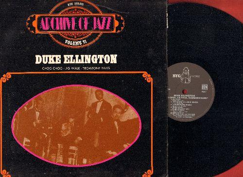 Ellington, Duke - Archive Of Jazz Vol. 21: Choo-Choo, Jig Walk, Trombone Blues, Lucky Number Blues (vinyl LP record, reissue of vintage Jazz recordings) - NM9/EX8 - LP Records