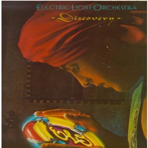 Electric Light Orchestra - Discovery: Don't Bring Me Down, Midnight Blue, Shine A Little Love, The Diary Of Horace Wimp (vinyl STEREO LP record, gate-fold cover) - NM9/EX8 - LP Records