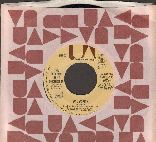 Electric Light Orchestra - Evil Woman/10538 Overture (with company sleeve) - EX8/ - 45 rpm Records