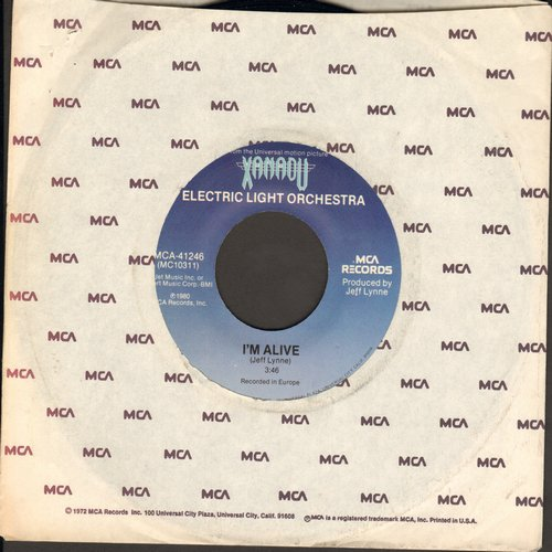 Electric Light Orchestra - I'm Alive/Drum Dreams (from film -Xanadu-)  - NM9/ - 45 rpm Records