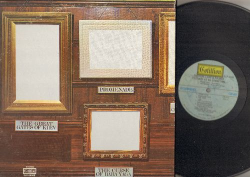 Emerson, Lake & Palmer - Pictures At An Exhibition: Promenade, The Gnome, Blues Variation, The Hut Of Baba Yaga (vinyl STEREO LP record, gate-fold cover) - VG7/VG7 - LP Records