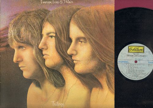Emerson, Lake & Parlmer - Trilogy: The Endless Enigma, Hoedown, Living Sin, Abaddon's Bolero (vinyl STEREO LP record, gate-fold cover first pressing) - EX8/EX8 - LP Records