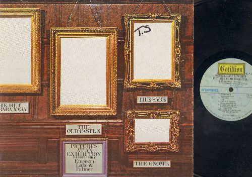 Emerson, Lake & Palmer - Pictures At An Exhibition: Promenade, The Gnome, Promenade, The Sage, The Old Castle, Blues Variation, Promenade, The Hut Of Baba Yaga, The Curse Of Baba Yaga, The Hut Of Baba Yaga, The Great Gates Of Kiev (Vinyl Gatefold Stereo L