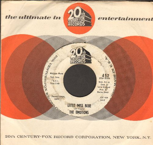 Emotions - Little Miss Blue/Rainbow (DJ advance pressing with vintage 20th Century-Fox company sleeve) - VG6/ - 45 rpm Records