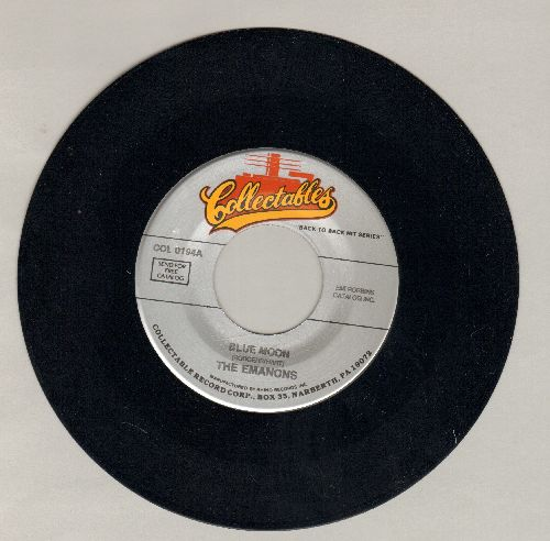 Emanons - Blue Moon/Wish I Had My Baby (double-hit re-issue) - M10/ - 45 rpm Records