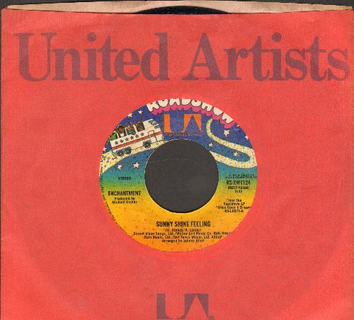Enchantment - Sunny Shine Feeling/It's You That I Need (with United Artists company sleeve) - EX8/ - 45 rpm Records