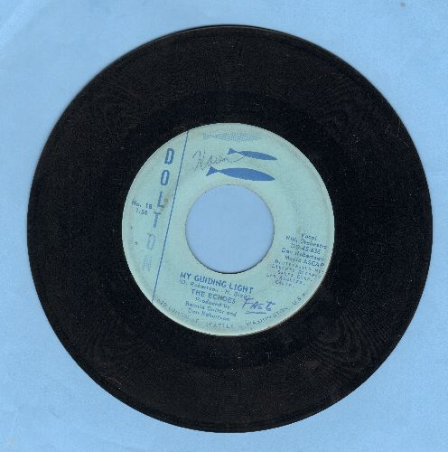 Echoes - Born To Be With You/My Guiding Light (wol) - VG7/ - 45 rpm Records