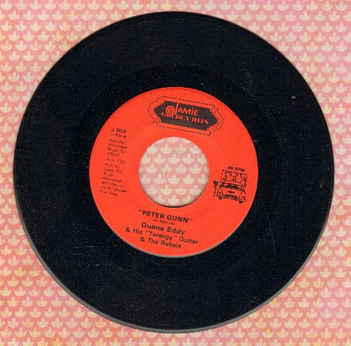 Eddy, Duane - Peter Gunn/Moovin' 'N Groovin' (double-hit re-issue) - NM9/ - 45 rpm Records