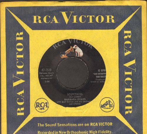 Evans, Barbara - Souvenirs/Pray For Me Mother (MINT condition with RCA company sleeve) - M10/ - 45 rpm Records
