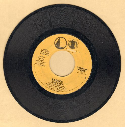 Eagles - Lyin' Eyes/Looking For Love (Johnny Lee) (reissue) - EX8/ - 45 rpm Records