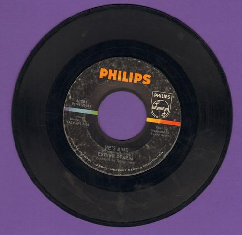 Ofarim, Esther  - He's Mine/Three Unbroken Words - EX8/ - 45 rpm Records