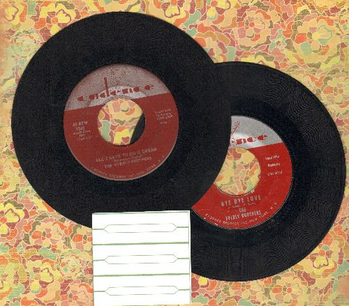 Everly Brothers - 2 for 1 Special: Bye Bye Love/All I Have To Do Is Dream(2 vintage first issue 45rpm records for the price of 1!) - VG7/ - 45 rpm Records
