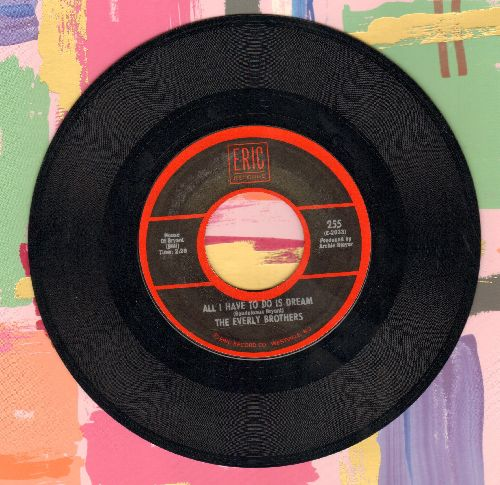 Everly Brothers - All I Have To Do Is Dream/Claudette (double-hit re-issue) - EX8/ - 45 rpm Records