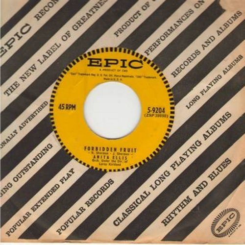 Ellis, Anita - Forbidden Fruit/Man With A Horn (with Epic company sleeve) - EX8/ - 45 rpm Records