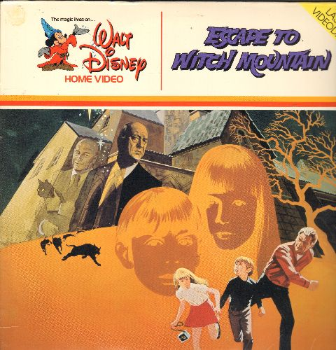 Disney - Escape To Witch Mountain - LASER DISC version of th Disney Family Classic (THIS IS A LASER DISC, NOT ANY OTHER KIND OF MEDIA!) - NM9/EX8 - Laser Discs