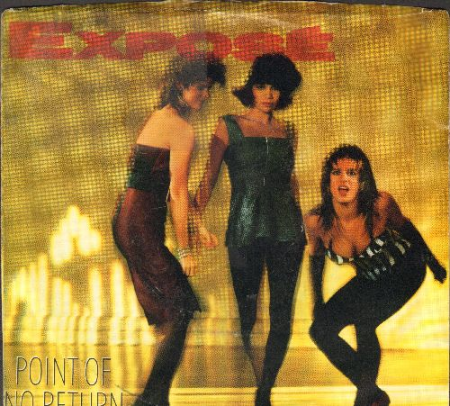 Expose - Point Of No Return/Extra Extra (with picture sleeve) - EX8/EX8 - 45 rpm Records
