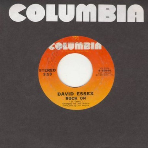 Essex, David - Rock On (Bang A Gong)/On And On  - EX8/ - 45 rpm Records