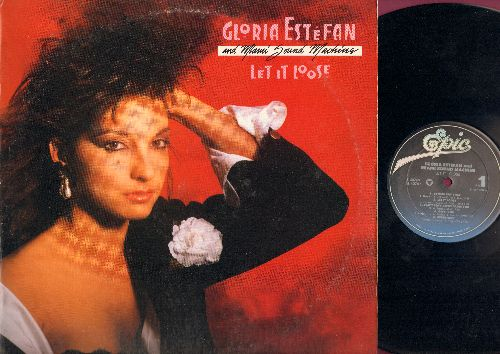 Estefan, Gloria - Let It Loose: Rhythm Is Gonna Get You, Give It Up, 1-2-3, Betcha Say That (vinyl STEREO LP record) - NM9/VG7 - LP Records