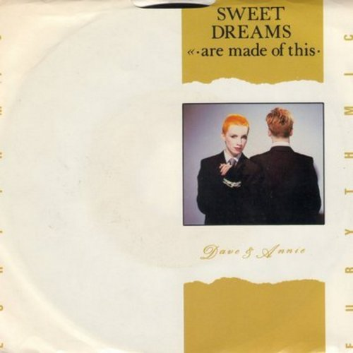 Eurythmics - Sweet Dreams (Theme from Martha Stewart's TV Reality Show)/I Could Give You (A Mirror) (with picture sleeve) - NM9/VG7 - 45 rpm Records
