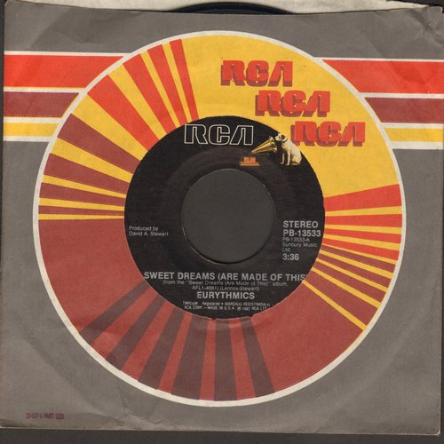 Eurythmics - Sweet Dreams (Theme from Martha Stewart's TV Reality Show)/I Could Give You (A Mirror) (with juke box label) - EX8/ - 45 rpm Records