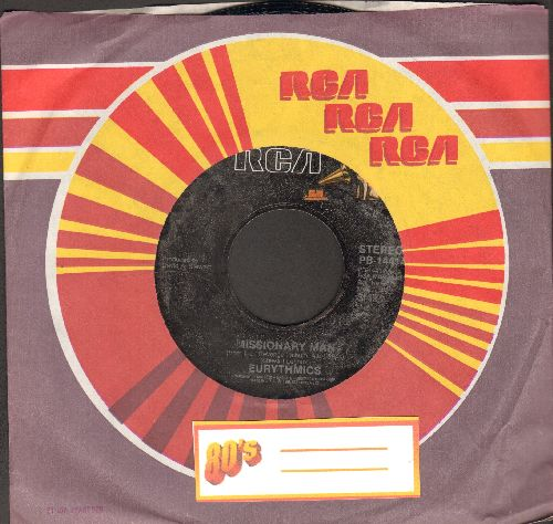 Eurythmics - Missionary Man/Take Your Pain Away (MINT condition with RCA company sleeve) - M10/ - 45 rpm Records