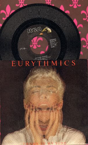 Eurythmics - Thorn In My Side/In This Town (with picture sleeve) - NM9/NM9 - 45 rpm Records