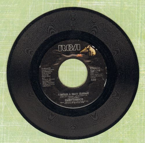 Eurythmics - I Need A Man/Heaven  - EX8/ - 45 rpm Records
