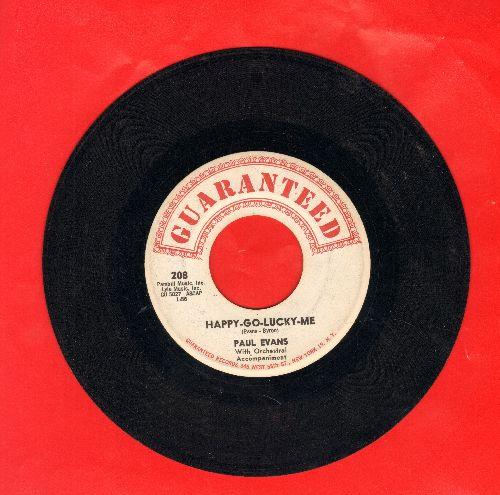 Evans, Paul - Happy-Go-Lucky-Me/Fish In The Ocean  - EX8/ - 45 rpm Records