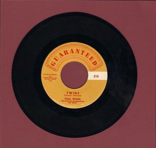 Evans, Paul - Twins/The Bridge Of Broken Hearts  - NM9/ - 45 rpm Records