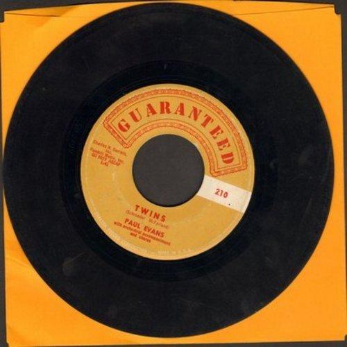 Evans, Paul - Twins/The Bridge Of Broken Hearts - VG7/ - 45 rpm Records