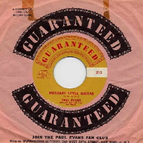 Evans, Paul - Hushaby Little Guitar/Blind Boy (with RARE original company sleeve) - NM9/ - 45 rpm Records
