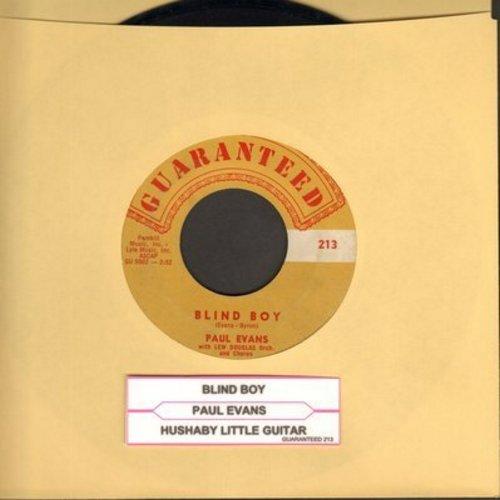 Evans, Paul - Blind Boy/Hushaby Little Guitar  - EX8/ - 45 rpm Records