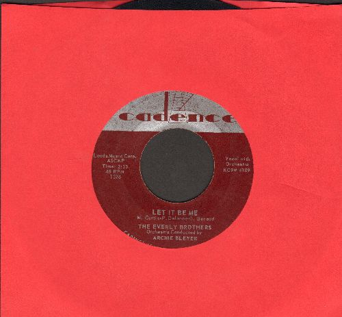 Everly Brothers - Let It Be Me/Since You Broke My Heart  - VG7/ - 45 rpm Records