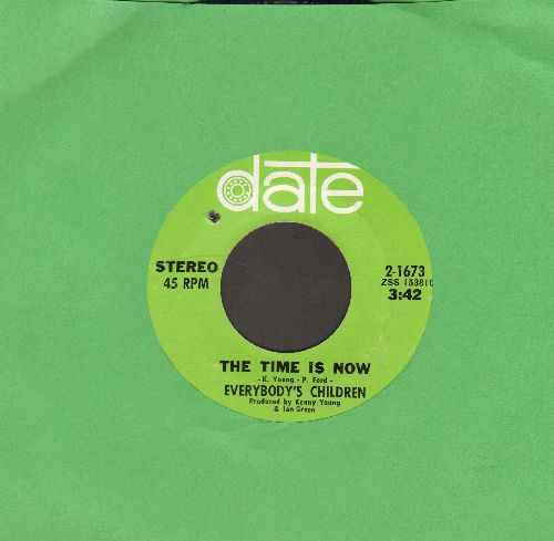Everybody's Children - The Time Is Now/Abide With Me (bb) - NM9/ - 45 rpm Records