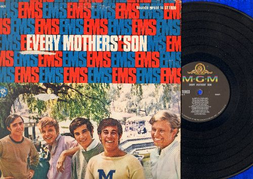 Every Mothers' Son - Every Mothers' Son: Come On Down To My Boat, Ain't It A Drag, Come On Queenie, What Became Of Mary, Allison Dozer (vinyl STEREO LP record, gate-fold cover) - EX8/VG7 - LP Records