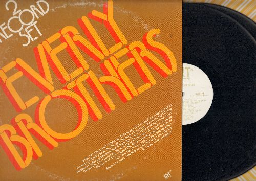 Everly Brothers - Everly Brothers: Bye Bye Love, All I Have To Do Is Dream, Let It Be Me, (Till) I Kissed You, When Will I Be Loved (2 voinyl LP records, re-issue of vintage recordings) - EX8/VG7 - LP Records