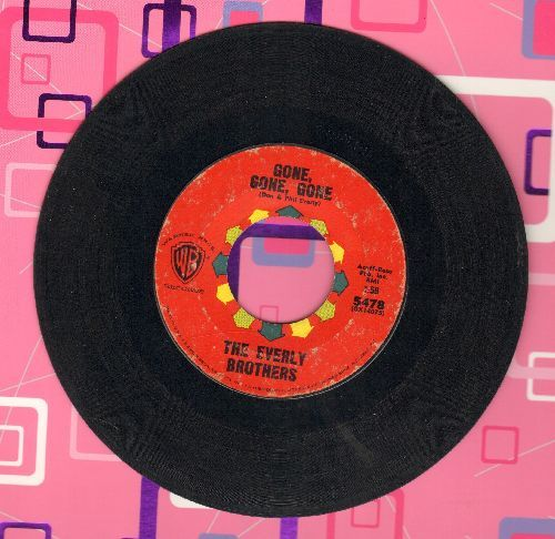 Everly Brothers - Gone, Gone, Gone/Torture  - VG6/ - 45 rpm Records