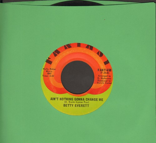 Everett, Betty - Ain't Nothing Gonna Change Me/What Is It? - EX8/ - 45 rpm Records