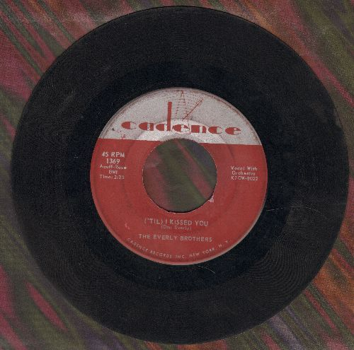 Everly Brothers - Til I Kissed You/Oh What A Feeling (sol) - VG7/ - 45 rpm Records