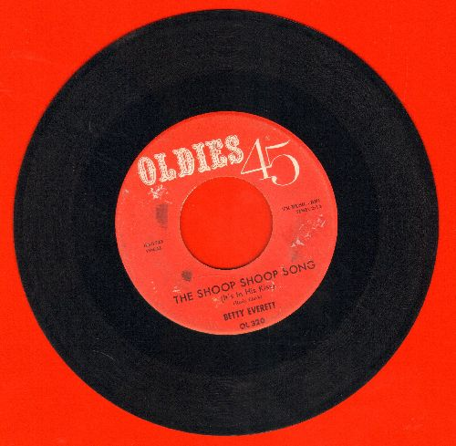Everett, Betty - The Shoop Shoop Song (It's In His Kiss)/Hands Off (early re-issue, wol) - VG7/ - 45 rpm Records
