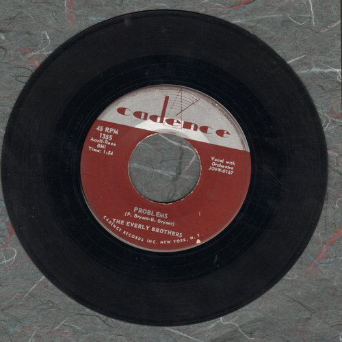 Everly Brothers - Problems/Love Of My Life - VG7/ - 45 rpm Records