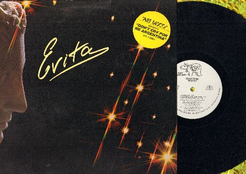 Festival - Evita - Art Disco contains Don't Cry For Me Argentina + 6 other Dance Club Tracks (12 inch vinyl Maxi Single, DJ advance pressing with picture cover) - NM9/NM9 - Maxi Singles