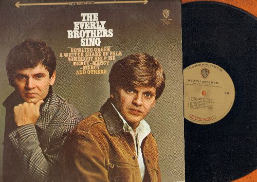 Everly Brothers - The Everly Brothers Sing: Bowling Green, Somebody Help Me, A Whiter Shade Of Pale, Mary Jane (vinyl STEREO LP record, NICE condition!) - VG7/VG7 - LP Records