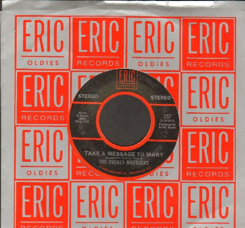 Everly Brothers - Bye Bye Love/Take A Letter To Mary (double-hit re-issue with Eric company sleeve) - NM9/ - 45 rpm Records
