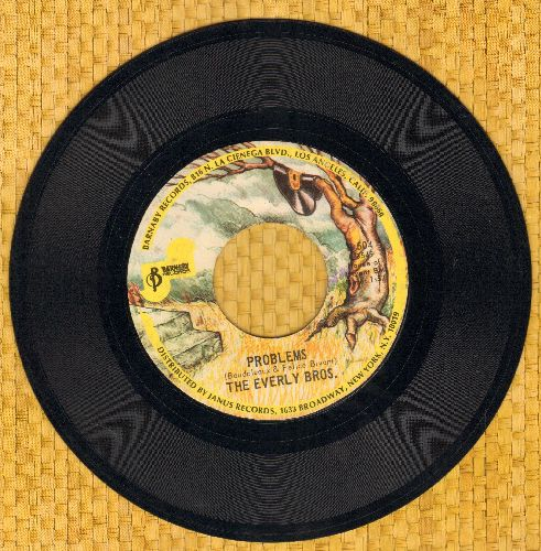 Everly Brothers - Problems/Love Of My Life (re-issue) - NM9/ - 45 rpm Records