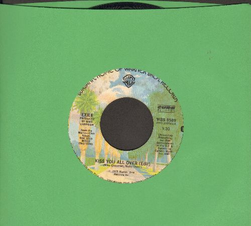 Exile - Kiss You All Over/Don't Do It - NM9/ - 45 rpm Records