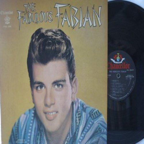 Fabian - Fabulous Fabian: You Excite Me, I'm Sincere, Gimme A Little Kiss, Remember Me, Ain't Misbehavin', You'll Never Tame Me (vinyl MONO LP record, NO scrapbook or poster!) - EX8/VG7 - LP Records
